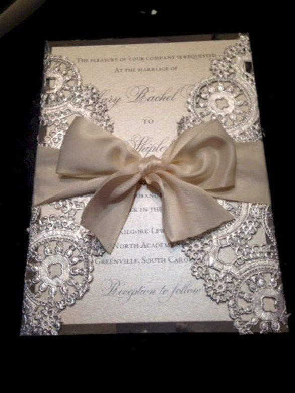 22 Amazing And Unique DIY Wedding Invitation Ideas