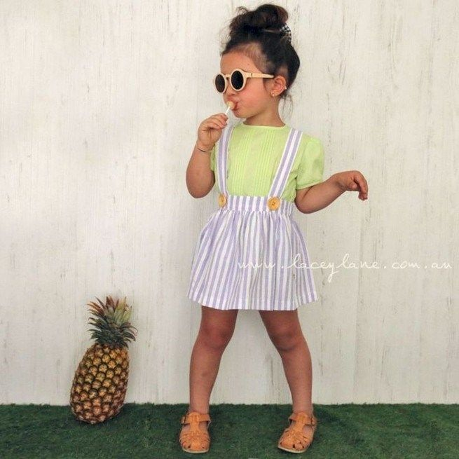 24 Easy Toddler Girl Summer Outfits Ideas