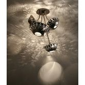 Found it at Wayfair - Steamlight Semi Flush Mount