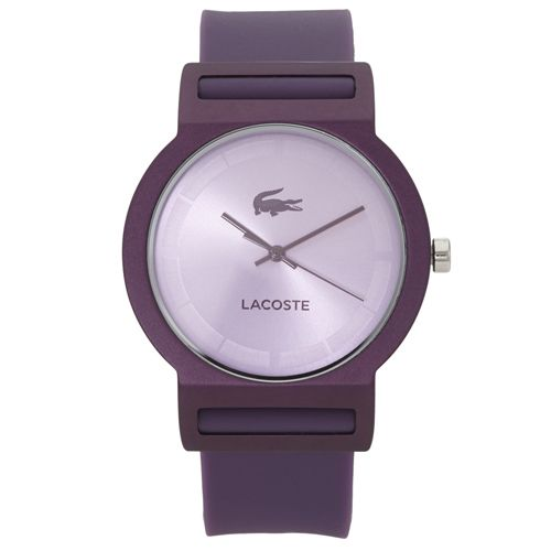 Relógio Lacoste Feminino Borracha Roxa - 2020075   Relógios ... bdb644c1ae