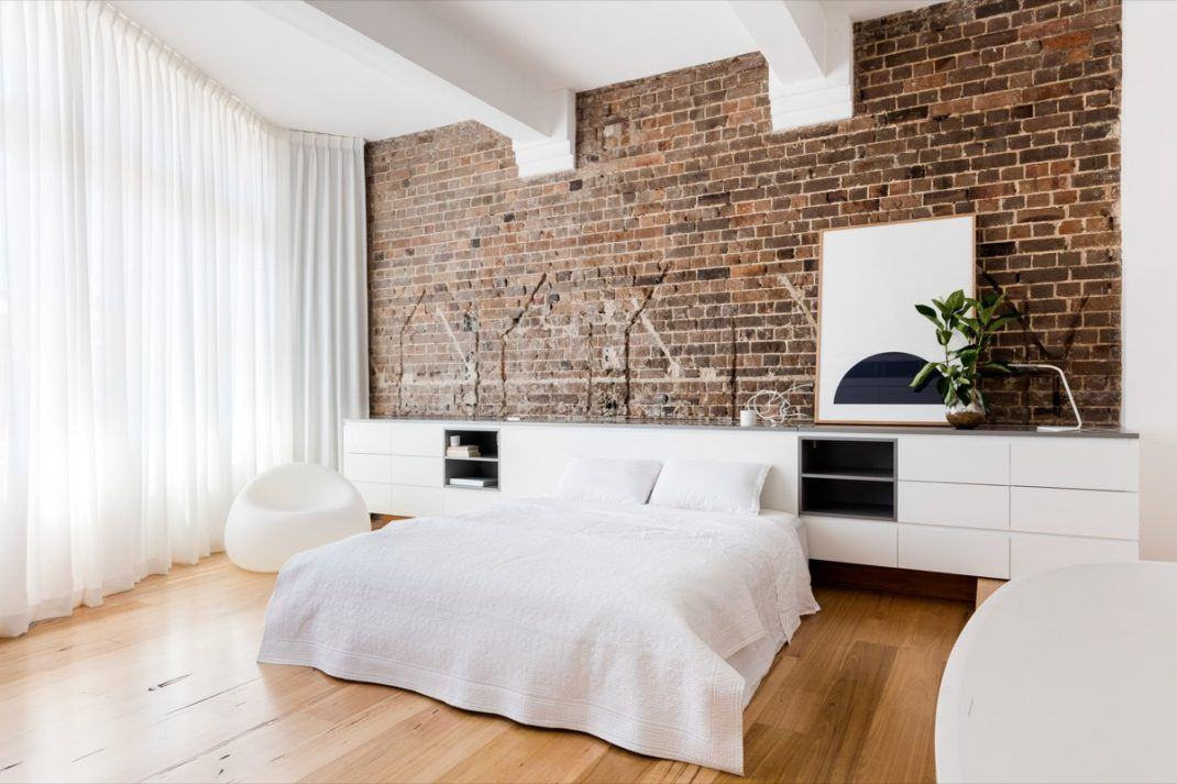 murs d une chambre avec des briques
