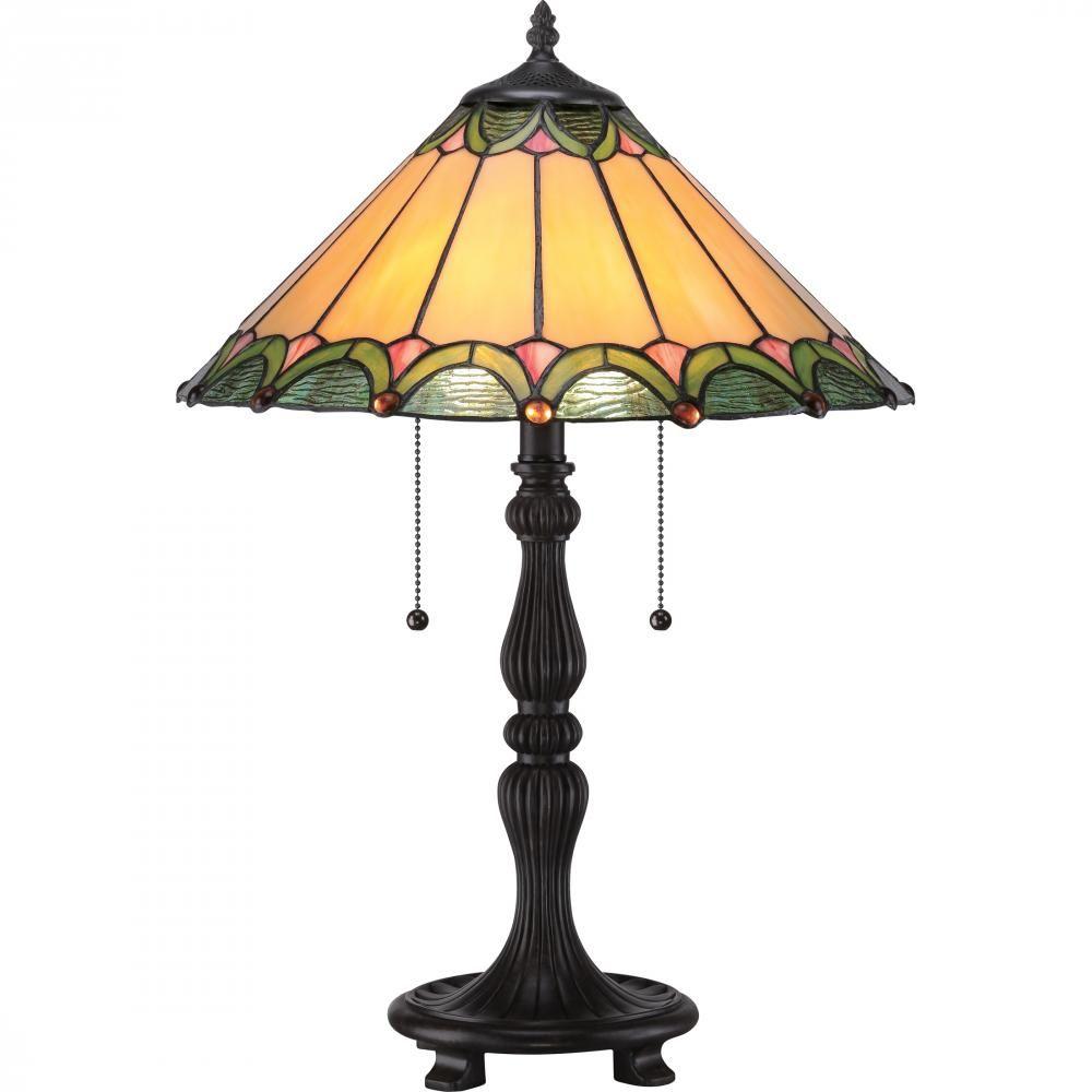 Tiffany Table Lamp Tf1802tib Lighting By The Sea