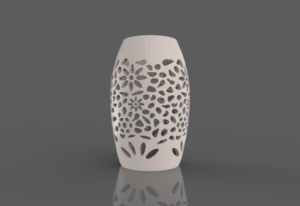 Artistic Lampshade 2 3d Print Model In 2020 Print Models 3d Printable Models 3d Printing