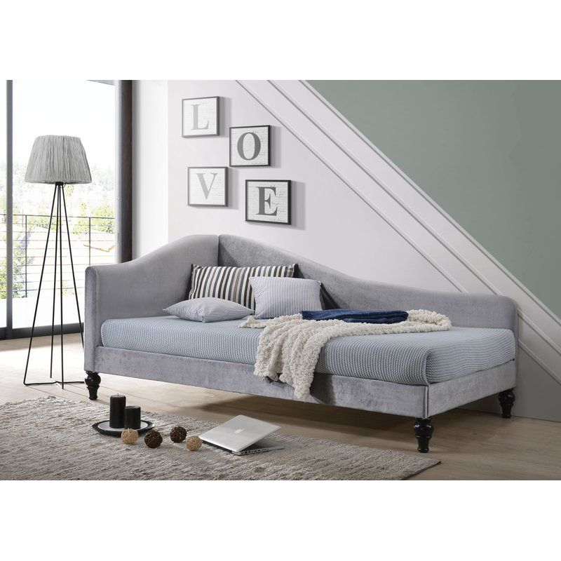 Jaylan Twin Daybed Upholstered Daybed Twin Daybed With Trundle