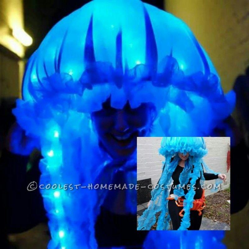 Glowing portuguese woman o war jellyfish costume jellyfish glowing portuguese woman o war jellyfish costume solutioingenieria Choice Image