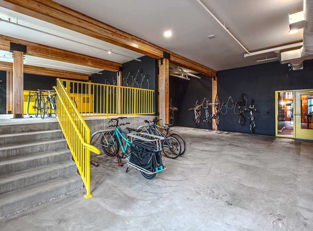 Enjoy safe and secure storage for any kind of bicycle, no