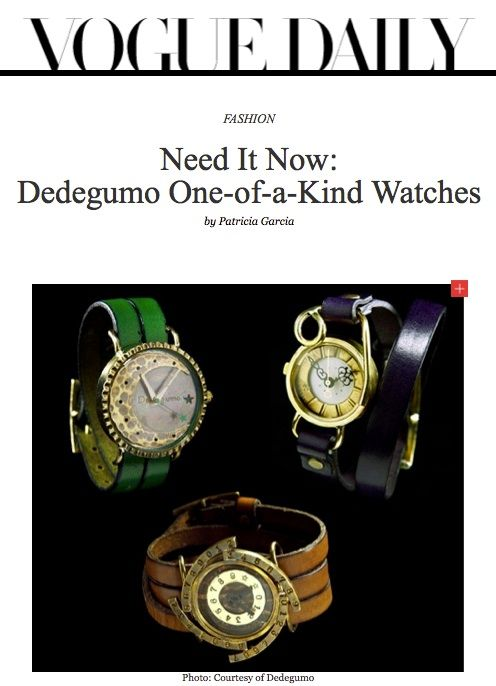 Dedegumo Unique Japanese Fashion Watches | aBlogtoWatch