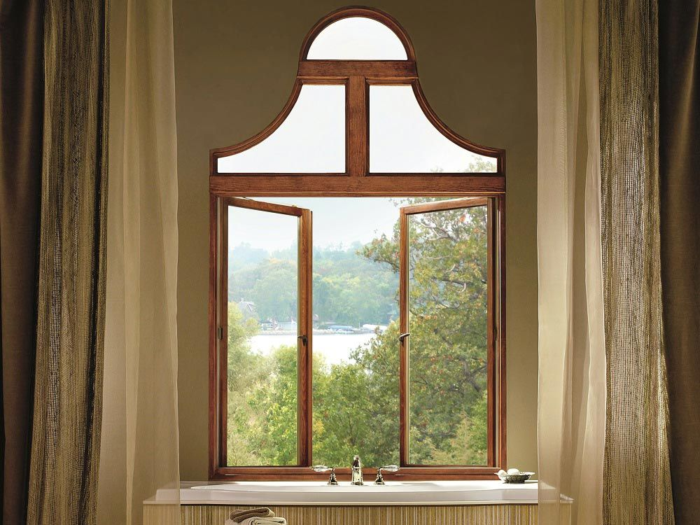 Marvin French Push Out Casement Windows Have No Center Stile Or Vertical Post And Instead Open Like A French Casement Windows Casement Windows Transom Windows