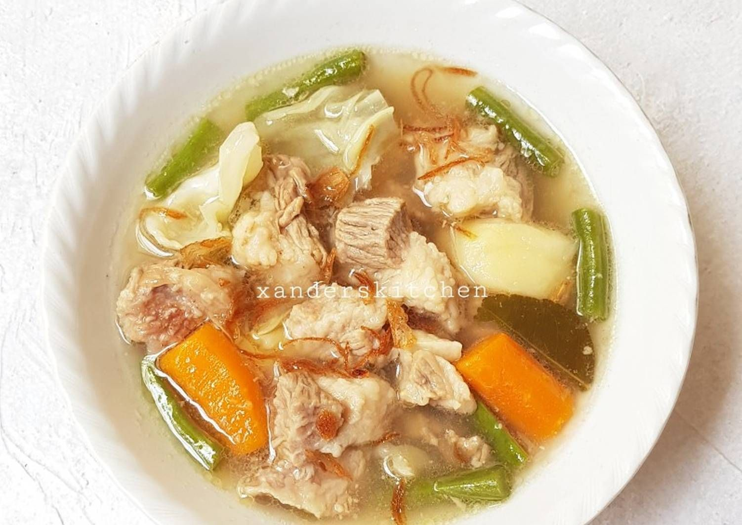 Resep Sop Tetelan Sedap Bangettt Oleh Xander S Kitchen Resep Resep Resep Masakan Masakan Indonesia