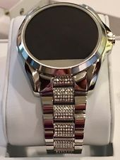 Nwt michael kors access silver glitz bradshaw touch screen nwt michael kors access silver glitz bradshaw touch screen smartwatch mkt5000 gumiabroncs Gallery