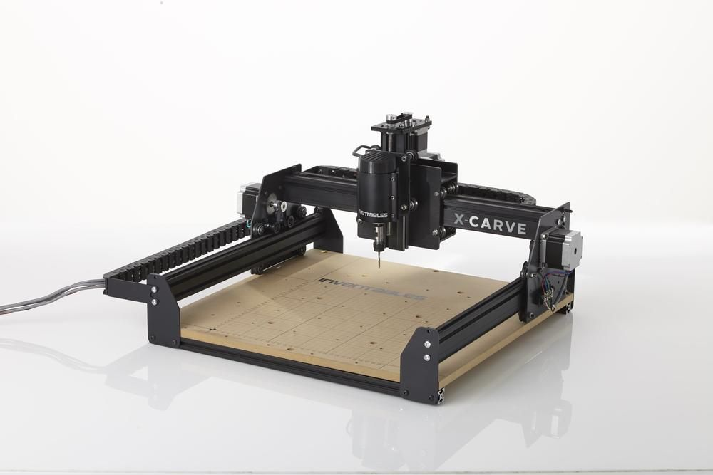 Inventables' X-Carve: an open source CNC mill kit for plastics, woods, and soft metals. <$1000