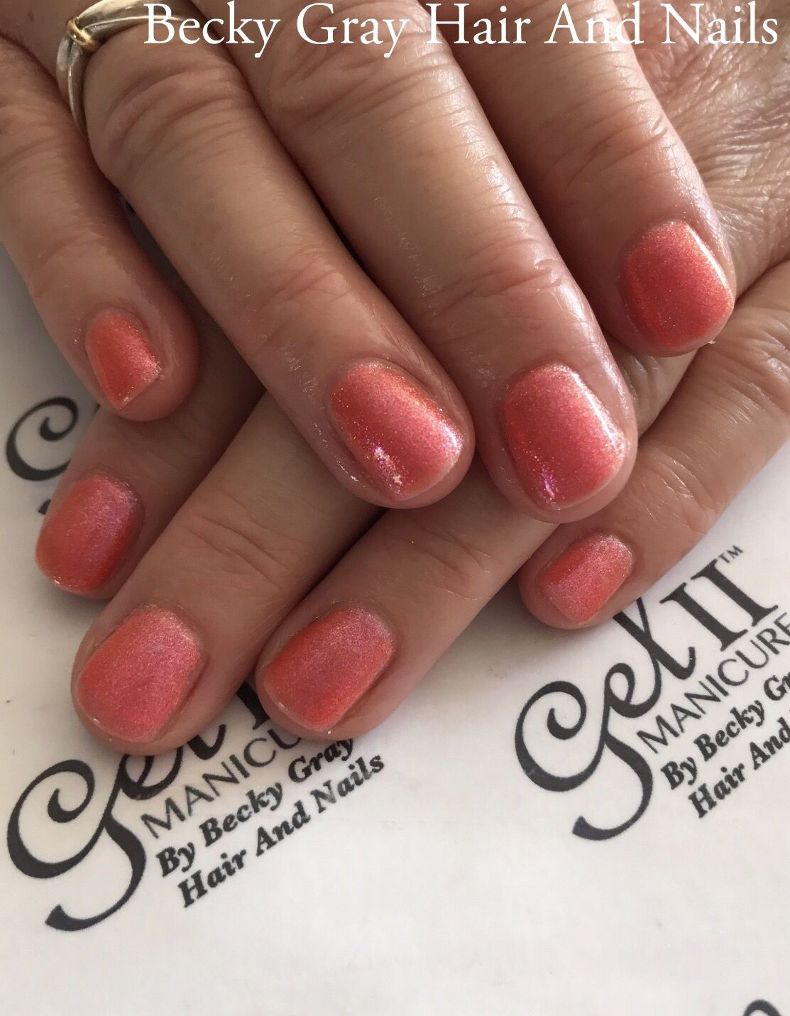 #gelii #manicure tan lines #gel_two #nails #showscratch #scratchmagazine