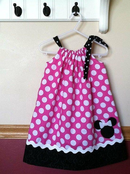 Minnie Mouse Dress for Aliya by Amymarti