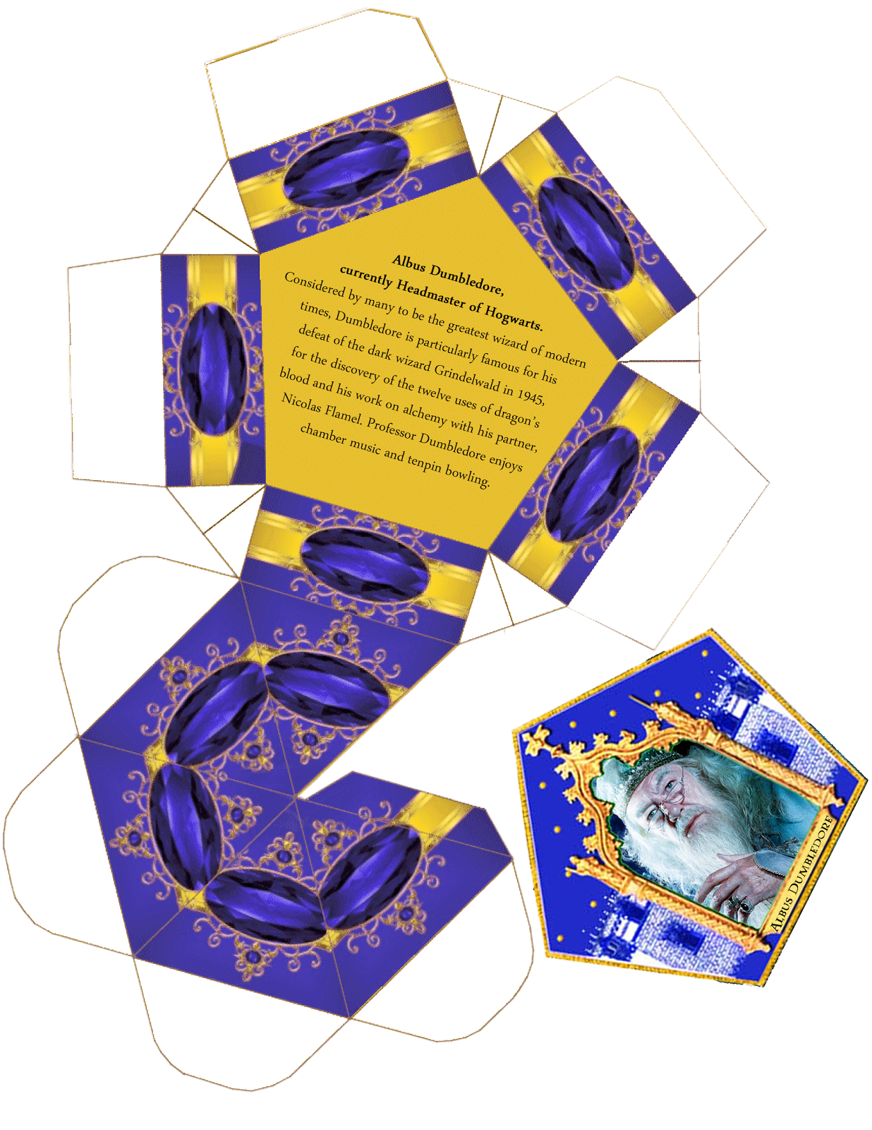 harry potter paraphernalia chocolate frogs box template kid