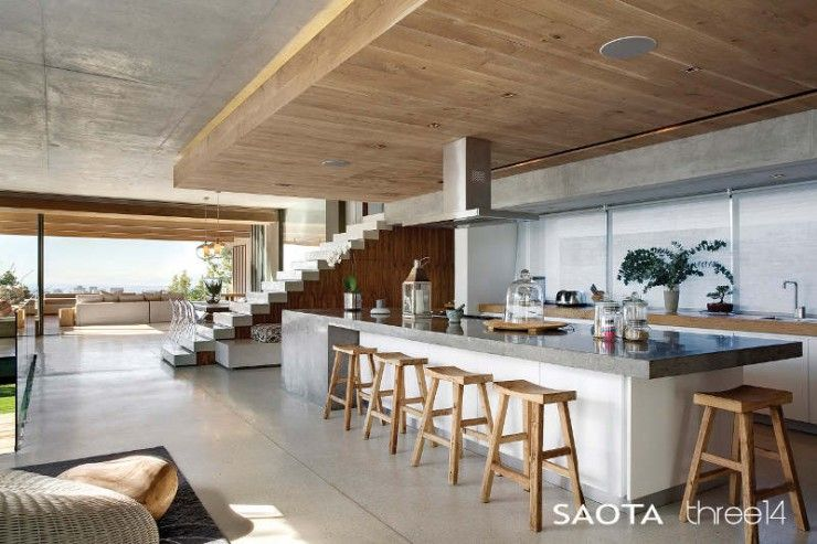 Contemporary-Chic House With a Comfortable and Relaxed Atmosphere ...