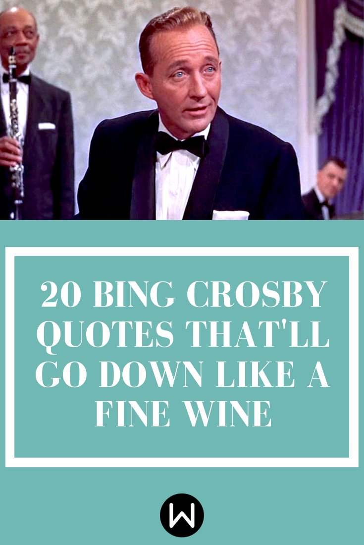 Your Heart Might Flutter After Reading 20 Bing Crosby ...