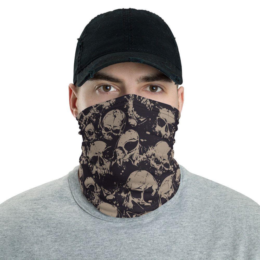 8-bit Camo Face Shield Buff Neck Gaiter Balaclava Mask.protect indoor//outdoor