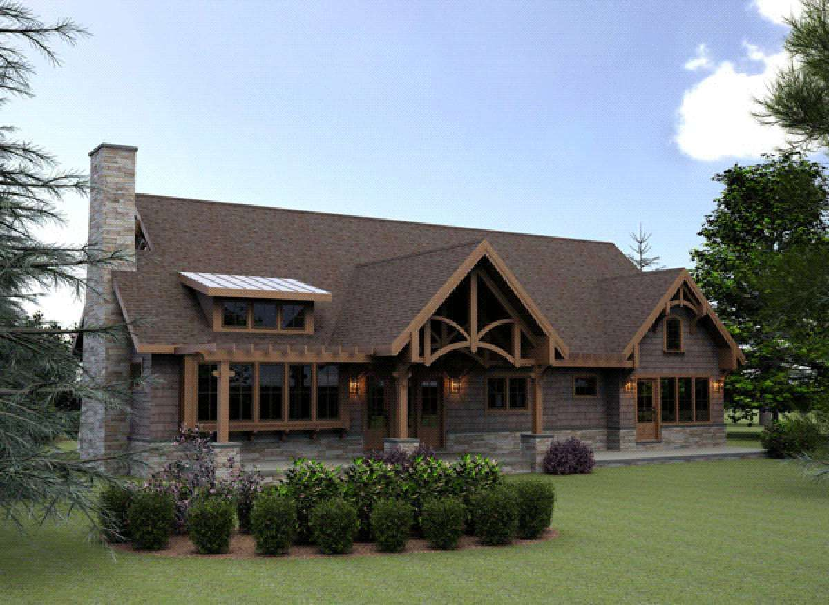 House Plan 7806 00002 Basement Plan 3 211 Square Feet 4 5 Bedrooms 4 Bathrooms In 2021 Lodge Style House Plans Craftsman Style House Plans Timber Frame Home Plans