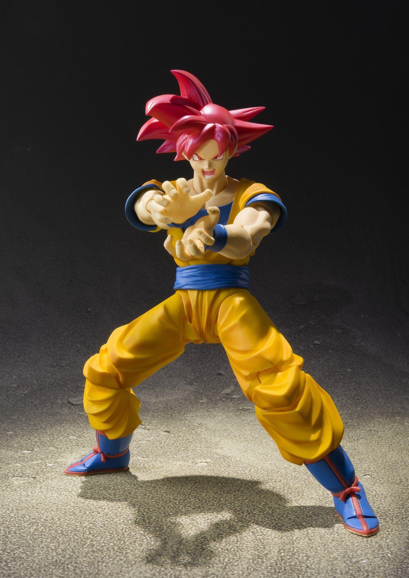 Figure dbs the Super warriors Vol 4 Dragonball SAIYAN God Son Gokou Son-Goku Action- & Spielfiguren