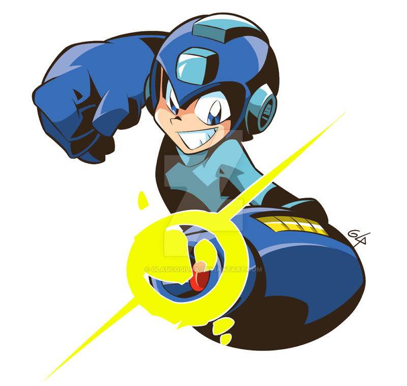 Megaman Classic Fanart By Https Www Deviantart Com Glaucosilva On Deviantart Mega Man Art Mega Man Fan Art