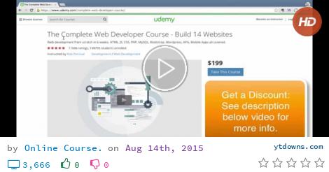 Download Udemy complete web developer videos mp3 - download Udemy complete web developer videos...