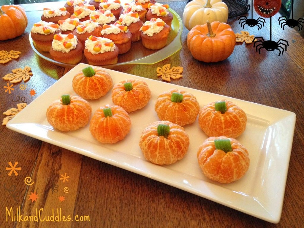 Great tips for making candy corn cupcakes pumpkin for Fall cooking tips