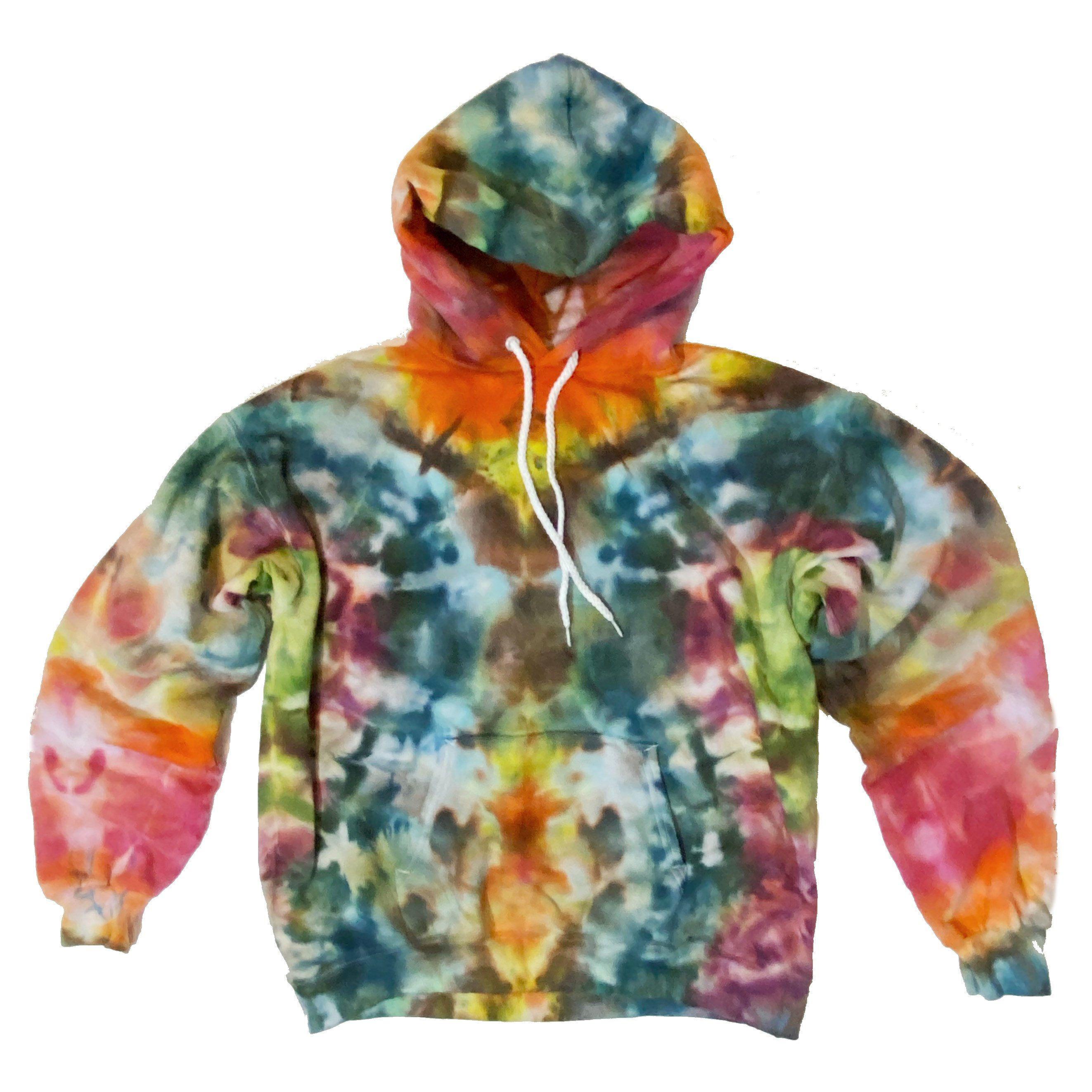 Tie Dye Hoodie Sweatshirt 90 10 Cotton Size Medium Unisex New Etsy In 2021 Tie Dye Hoodie Hoodies Sweatshirts Hoodie [ 2645 x 2645 Pixel ]
