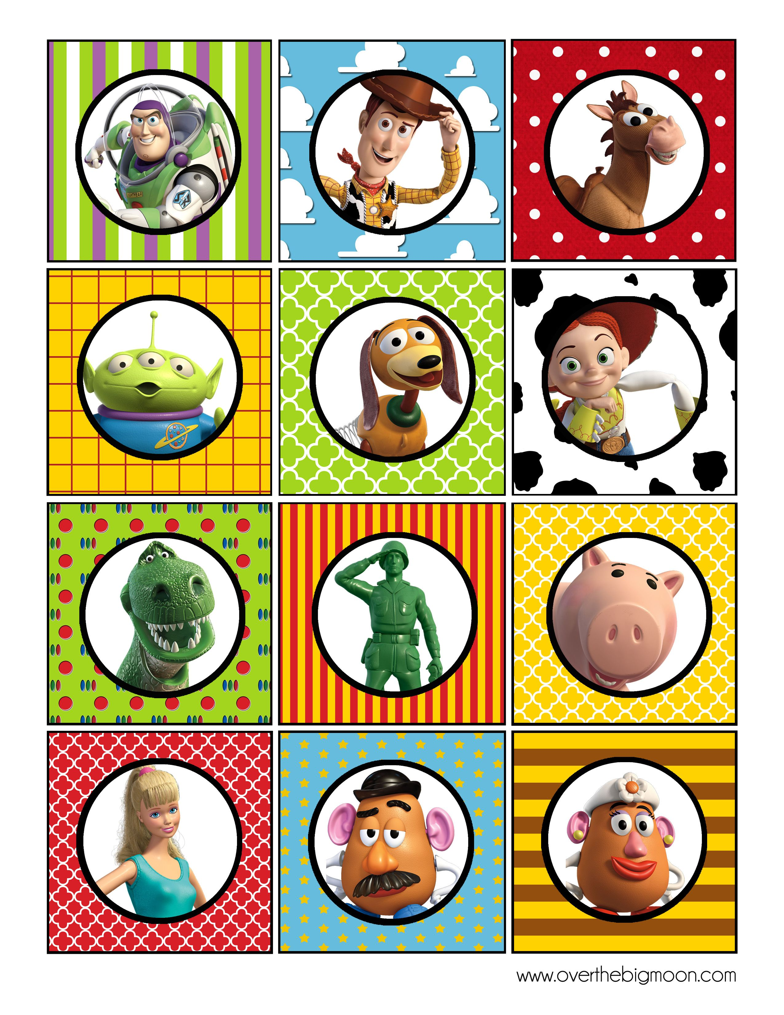 Toy Story Cupcake Toppers Toy Story Birthday Party Toy Story