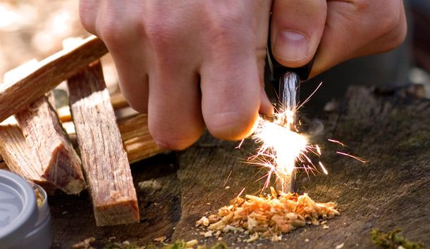 Here are 5 ways to start a fire - http://www.survivalistdaily.com/5-ways-to-start-a-fire/ #shtf #preparedness #survival #survivalism #prepping #firestarting