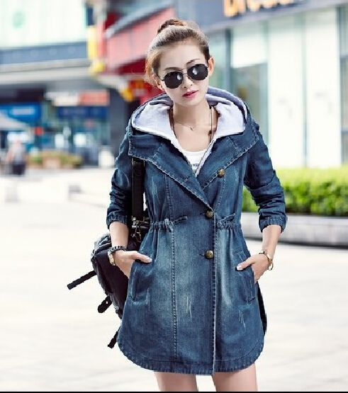 8dfda9ab454 Women Casual Loose Twinset Long Sleeve Patchwork Denim Coat - Lalalilo.com  Shopping - The Best Deals on Women s Outerwear