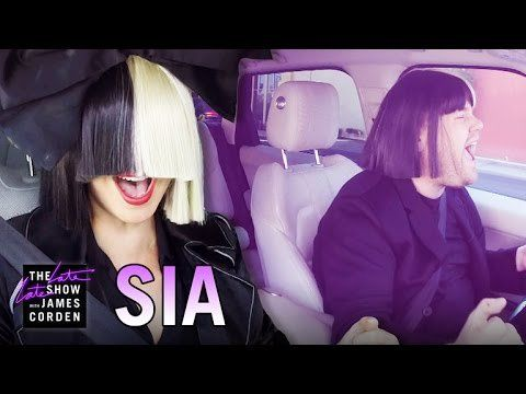 Pin for Later: Watch All of James Corden's Carpool Karaoke Sessions Sia