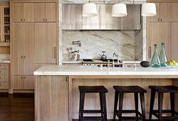 The Nostalgic Apron Front Sink Makes A Modern Comeback Beadboard Kitchen White Oak Kitchen Wood Kitchen Cabinets
