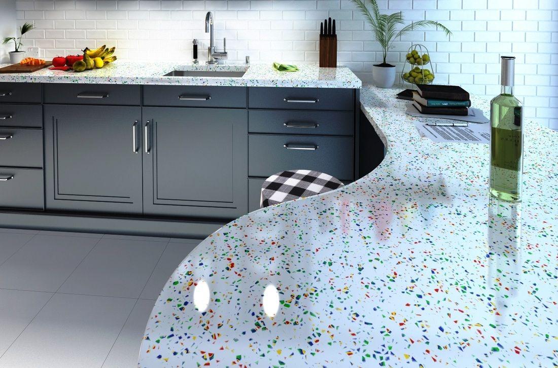 Tutti Frutti Quartz Worktop Google Search Kitchen Decor