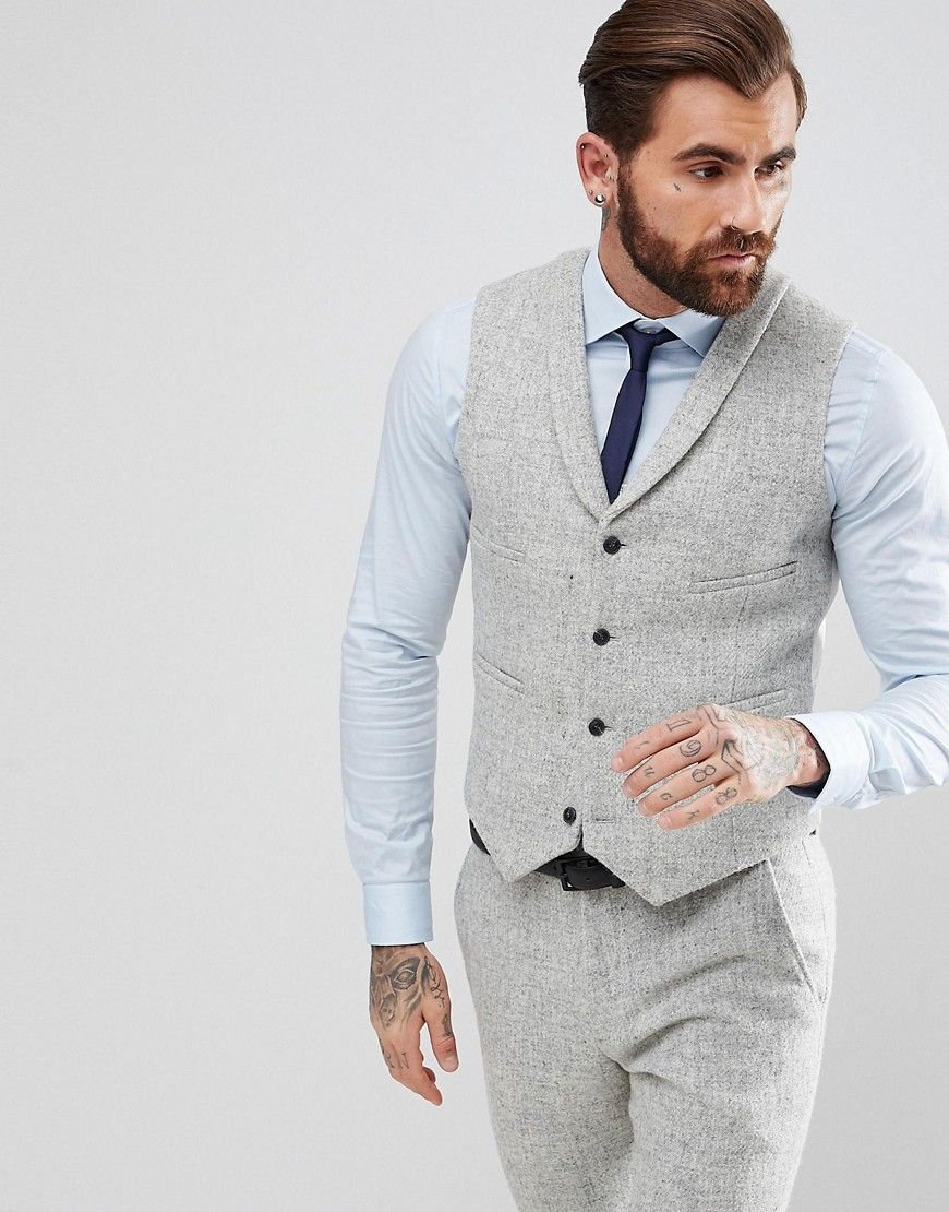 1920s Style Mens Harris Tweed Herringbone In Light Gray 1920s Mens Fashion Mens Clothing Styles Latest Fashion Clothes