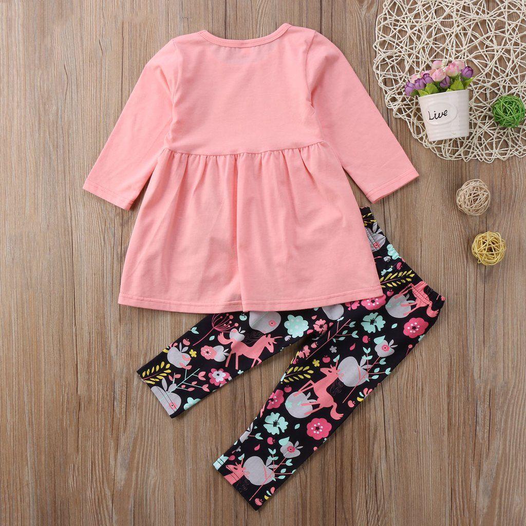 8ac7d862ed229 Unicorn Dress Tops + Pants Leggings Outfits | Festive Outfits For ...