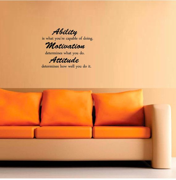 Ability is what you're capable of doing.  by EpicDesignsDecor, $10.99