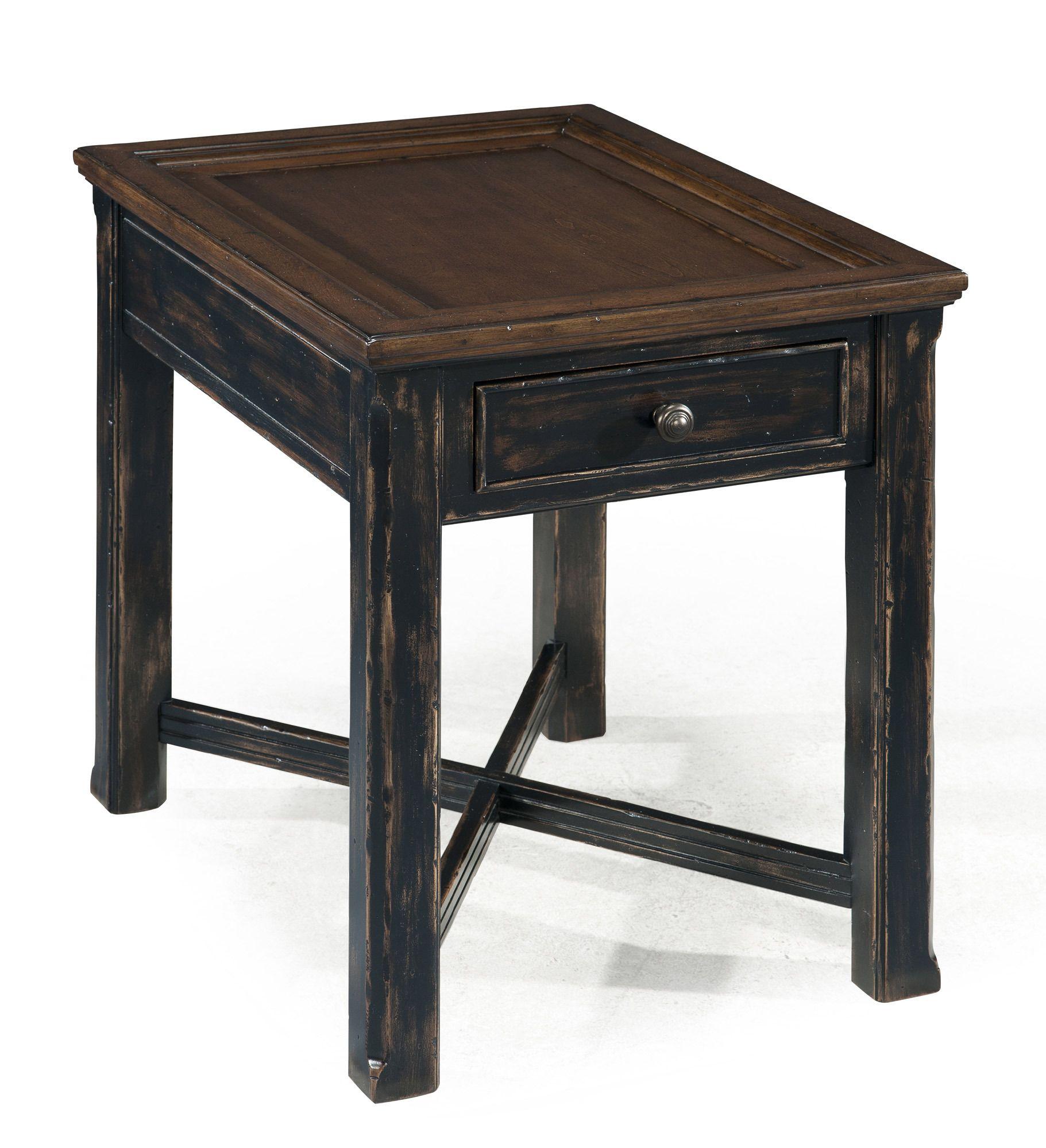 Clanton rectangular end table magnussen furniture home