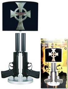 Awesome Competwition - Boondock Saints Double Gun Table Lamp ...
