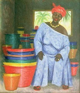 Tilly  Willis - Bucket Shop, 1999 (oil on canvas)