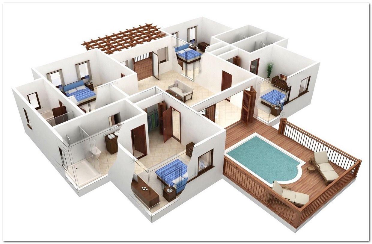 3d Floor Plans Best Of 3d Home Floor Plan1 Bedroom 1 Bath Princeton Estates By Pndrgn On Deviantart C Insp Pool House Plans Design Your Own Home 3d House Plans