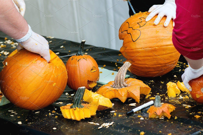 Making Halloween Pumpkins Halloween Pumpkins Pumpkin Pumpkin Carving