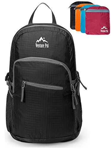 f0f496ad8dc Venture Pal 20L Ultralight Lightweight Packable Foldable Travel Camping  Hiking Outdoor Sports Backpack Daypack Black     This is an Amazon  Affiliate link.