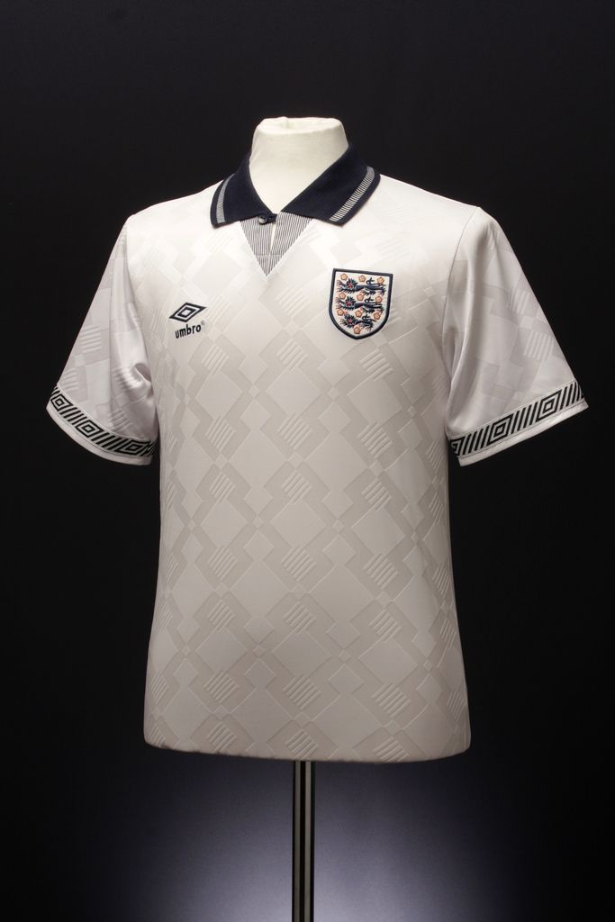 England Home Shirt 1990 92 Vintage Football Shirts Classic Football Shirts Football Outfits