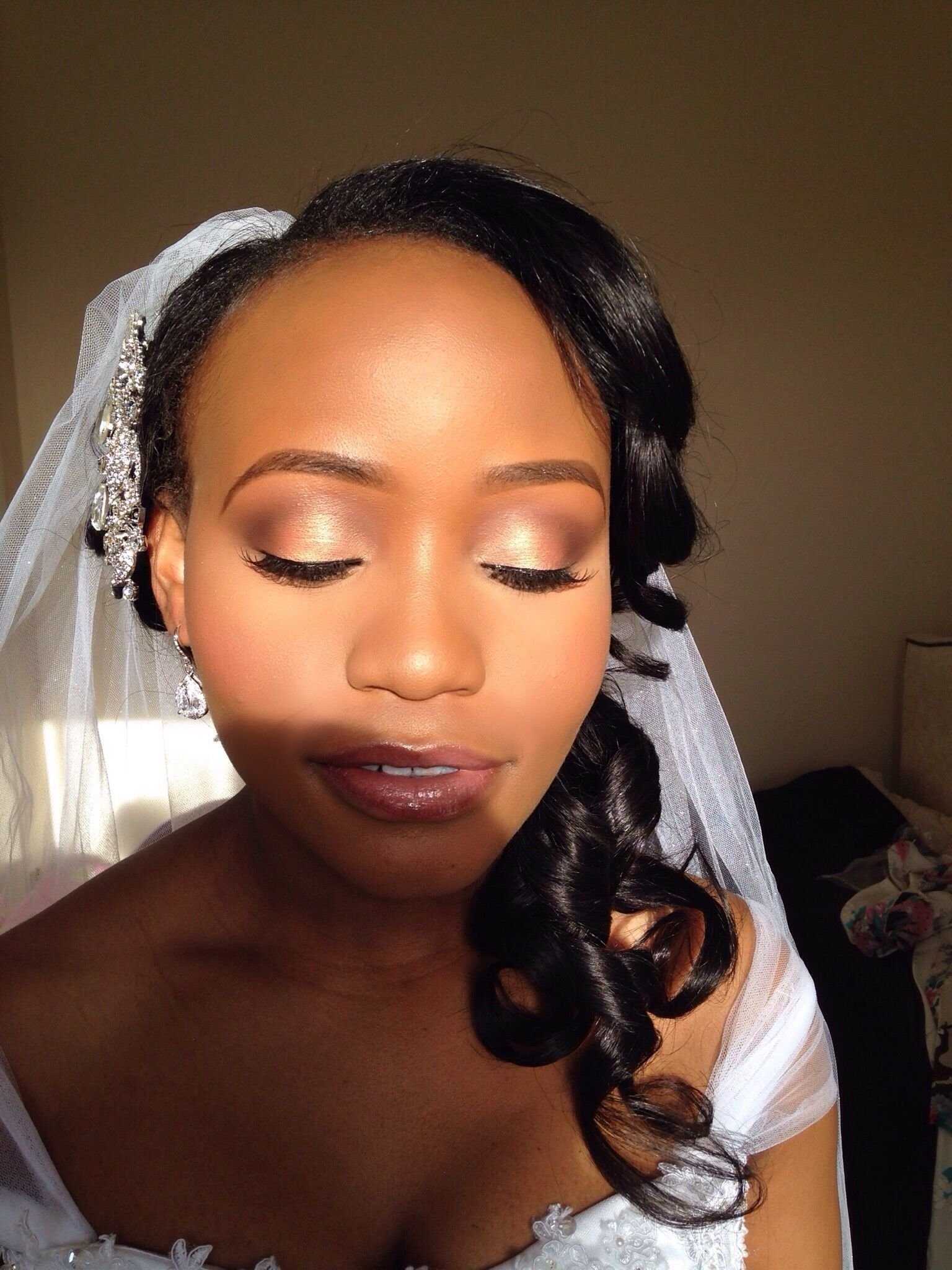 How To Apply Bridal Makeup For Black Skin : black makeup artist london, makeup artist for black skin ...