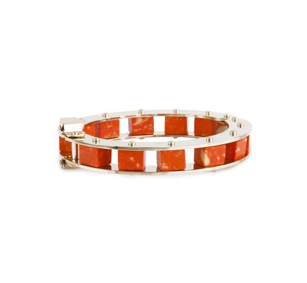 Lele Sadoughi Sunset Orange Bracelet