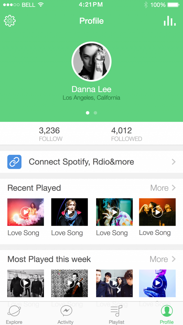 It Introduces A Great Way To Share Music With Others Duorey Lets You Create And Add To Playlists And Get Involved In Social Inte Music App Android Music Songs