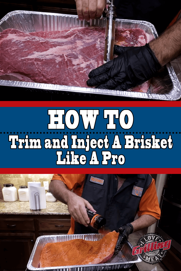How To Trim And Inject A Brisket Like A Professional Pitmaster Brisket Brisket Recipes Smoked Smoked Brisket