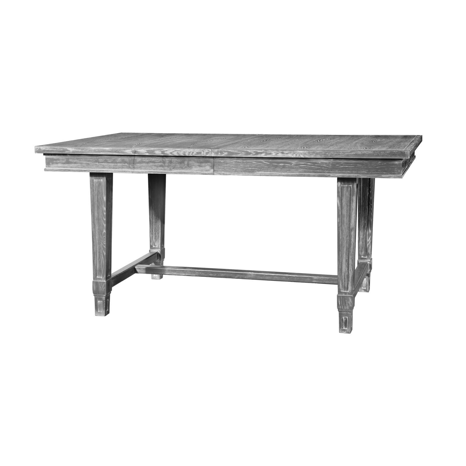 Bungalow 5 Florence Dining Table In Gray Cerused Oak 69 87l X  # Table Bois Ceruse