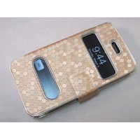 Gold Silver Luxury Luxurious Synthetic Leather Magnetic Flip Case Cover Protector Skin for iPhone 4 4G 4S