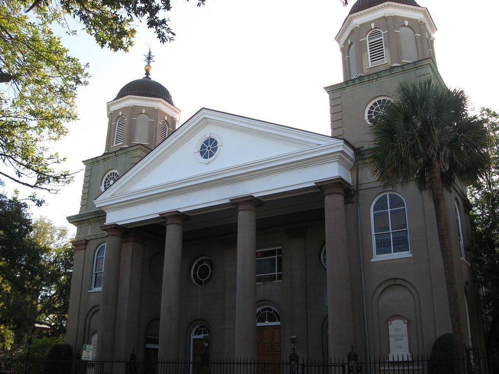 Charleston: First Presbyterian Church The First Scots